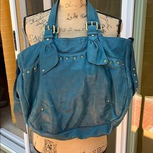 Marc by Marc Jacobs bag teal leather large